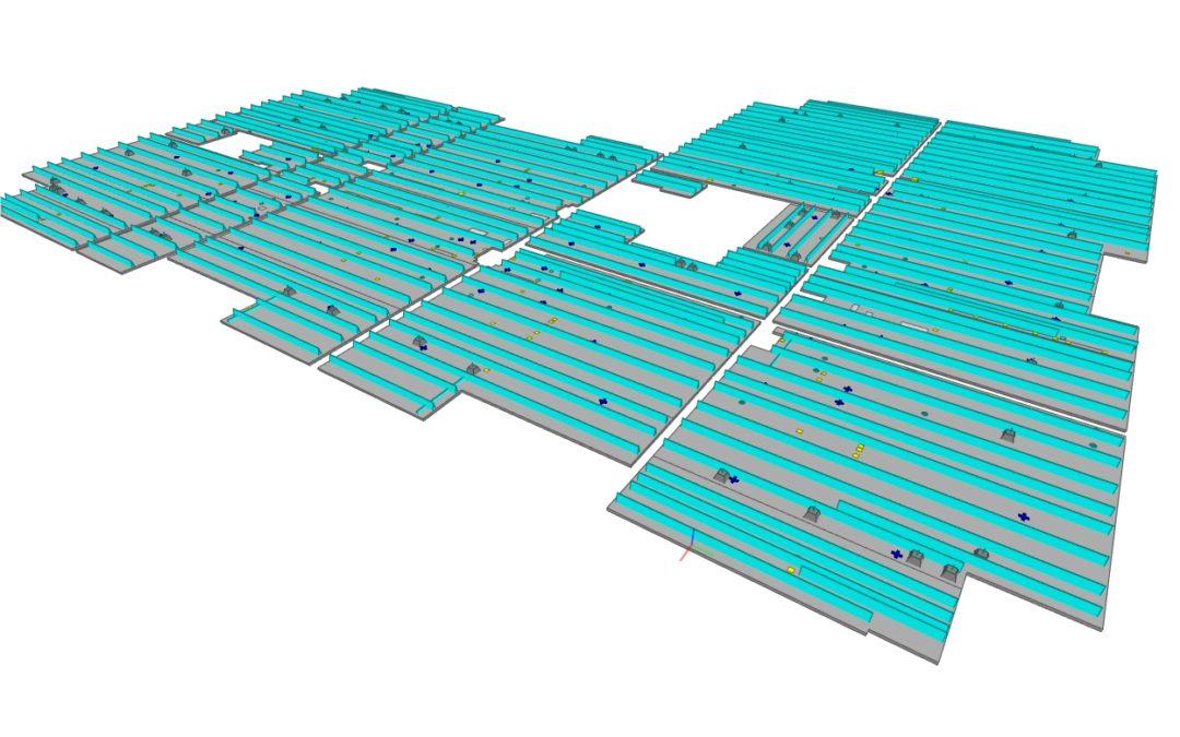 BIM IFC Properties Breedplaatvloer